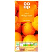 Co Op Pure Orange Juice